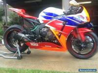 Honda CBR 1000rr Track Bike
