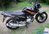 Yamaha YBR125 year 2013 in Black  for Sale
