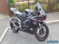 2012 SUZUKI GSXR 750 L1 BLACK