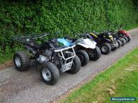 YAMAHA QUAD, JOB LOT QUAD BIKES, APACHE QUAD, 5 QUAD BIKES SPARES OR REPAIR