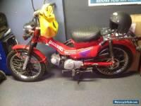 Honda Postie Bike 110cc