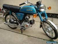 Suzuki A50K AP50 - Totally restored - Perfect condition - Classic Vintage Suzuki