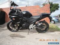 HONDA CBR500R LAMS APPROVED LEARNER 2014 LOW 13469KMS BLACK ABS