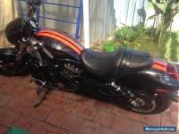 Harley Davidson Night Rod Special, V-Rod VRSCDX 2008, black with orange strips