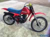 HONDA XR 100 R MOTORBIKE