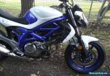Suzuki Gladius. LAMS. Won at Auction (Cheap Sale)  SFV 650cc. 2011 for Sale