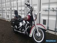 HARLEY-DAVIDSON FLSTC SOFTAIL EVO US IMPORT REGISTERED IN UK