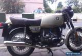 1979 BMW R45 BEIGE/BLACK MOTORBIKE  for Sale