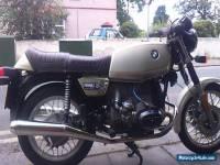1979 BMW R45 BEIGE/BLACK MOTORBIKE