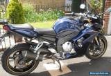 2006 YAMAHA FZ1S BLUE for Sale