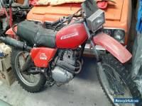 Honda xl250s trail bike
