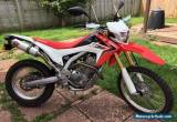 2013 HONDA CRF 250 L-D RED yoshimura exhaust for Sale