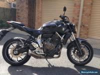 Yamaha mt 07 2016 lams