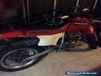 2002 Honda XR200R