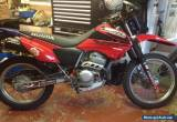 2004 HONDA XR250 XR 250 10,600 miles. Electric start. 12 months MOT. new C&S for Sale