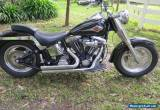 harley davidson fatboy 96 big $$$$ spent on bike low kms reg for Sale