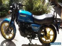 1983 Kawasaki KZ550G
