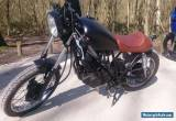 CAFE RACER YAMAHA SR250  CUSTOM MOTORCYCLE DELIVERY AVAILABLE TO MAINLAND UK for Sale