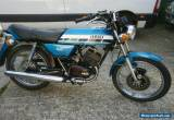 YAMAHA RD 125 DX 1E7 TWIN classic retro 70s iconic  2 stroke sportster  for Sale
