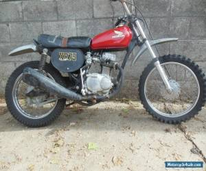1975 Honda XR for Sale