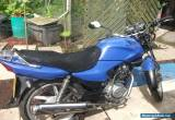 2007 HONDA CG125 BLUE for Sale