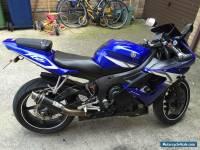 2005 YAMAHA YZF R6 BLUE MANY EXTRAS