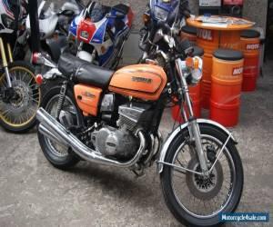 1975 Suzuki GT550 Triple 2 Stroke Project for Sale