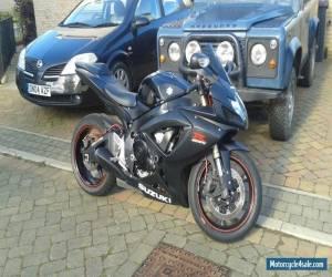 2006 Suzuki GSX-R 600 K6 black 15,000 miles for Sale