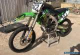 09 Kawasaki KX450F for Sale