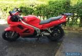 MOTORCYCLE 1996 HONDA VFR 750 - RED for Sale
