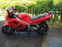 MOTORCYCLE 1996 HONDA VFR 750 - RED