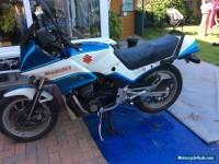 1984 SUZUKI  WHITE/BLUE GSX 550 ES