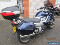 YAMAHA FJR1300 2006 GEN 2 MODEL BLUE/SILVER PANNIERS & TOP BOX INC