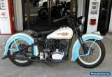 1936 Harley-Davidson VLD for Sale