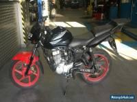 2009 HONDA CBF 125 M-9 RED/BLACK