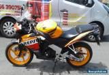 2012 HONDA CBR 125 R-C REPSOL PLZ READ AD for Sale
