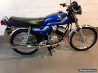 Honda H100 fully restored every nut and bolt with genuine honda parts show piece