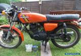1976 HONDA CB125 CLASSIC RESTORATION PROJECT/SPARES/REPAIR BARN FIND/CAFE RACER for Sale