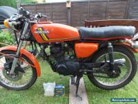 1976 HONDA CB125 CLASSIC RESTORATION PROJECT/SPARES/REPAIR BARN FIND/CAFE RACER