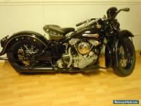1947 Harley-Davidson FL 1200CC