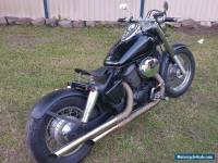 Honda shadow vt750 bobber project . chopper caferacer not harley vx750 oldschool