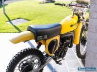 1976 Suzuki RM125a vintage classic motocross vmx dirt bike