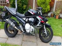 SUZUKI GSX 650 FK8 BLACK 2008 SPARES OR REPAIR
