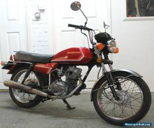 1988 Honda CG125 BR Classic Learner Barn Find, Good Condition, 14,000 Miles, N/R for Sale