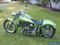Harley 1340cc TURBOCHARGED Custom - Fat and Fanstastic!