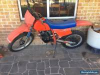 honda xr200r motorbike dirt bike