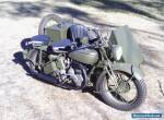 Norton Big4 Military motorcycle sidecar 41 Genuine 2wd Army WWII for Sale