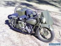 Norton Big4 Military motorcycle sidecar 41 Genuine 2wd Army WWII