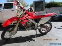 2008 Honda CRF450X CRF450