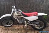 HONDA XR80 MOTORBIKE WITH HELMET for Sale